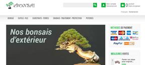 ebonsai.eu – Vente de bonsaïs et matériel