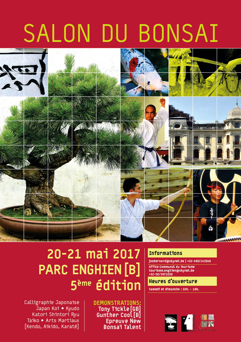Salon du bonsa les 20 et 21 mai 2017 parc d 39 enghien for Salon du chiot reze 2017